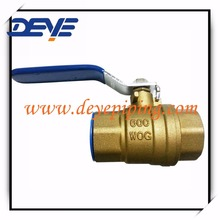 Forged BrasS 600WOG Ball Valves with Lever and 2-piece Body