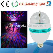 Disco DJ Party lamp e27 led globe bulb lamp led festival decorative lights