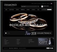 Luxury-Feeling Website Design for Diamond Sell