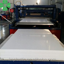 WHITE PVC FOAM BOARD PVC SHEET