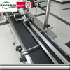 shanghai fully automatic plastic bag auto plane labeling sticker machine