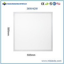 TUV CE approved dimmable square 60 60cm led panel lighting