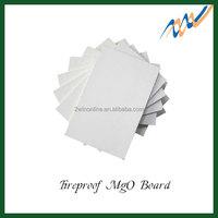 Fireproof no asbestos magnesium wall panels of glass fiber mesh