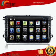 Wecaro HD 1024*600 Pure Android 8 Inch Car Dvd For VW Golf 5 6 Scirocco Polo Passat CC Jetta Tiguan Touran EOS SHARAN GPS Navi