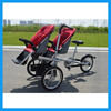 mother baby twins stroller bike 3 in 1