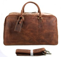 7156LR JMD Hot Sell Rough Style Mens Leather Big Travel Bag Online Wholesale