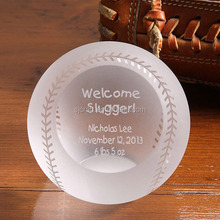 crystal baseball ball sphere , crystal baseball sports ball, Player Souvenir Gifts