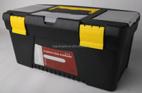 20 years manufacturer of heavy-duty plastic storage box with wheels for all kinds tools and garage with a very low price