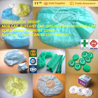 disposable nonwoven cap product