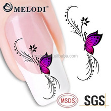 MELODI water slide nail decals