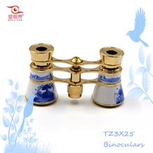 Chinese Custom Christmas Children Gift Craft Mini Folding Binoculars Telescope