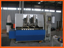 5 Axis 5 heads CNC Drilling and Tufting Brush Making Machine/Broom Making Machine with High Speed (3 drilling and 2 tufting)