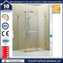 Esquina entrada aqua glass ducha integral cuarto de ducha