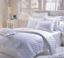 60S Cotton 3CM Stripe American Size Bed Sheet Set