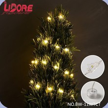 2015 Promotional Tool Items LED Christmas Mini CRAFT Battery Operated Copper String Light