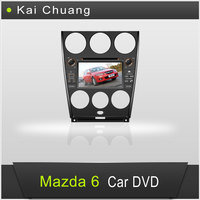 Great 2 din Car DVD For Mazda 6 with 7 inch Touch Screen