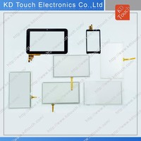 different small size Sensetive good quality resistive touch panel screen for GPS equipment