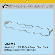 YB-C073 hot!!! cheap metal shoe rack designs