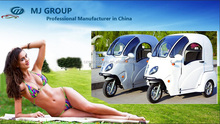 new 1200W motor 800W electric tricycle for cargo transport