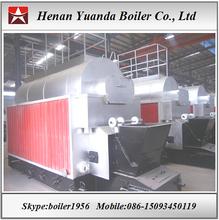 Travelling grate coal boiler 4 ton steam boiler in Indonesia
