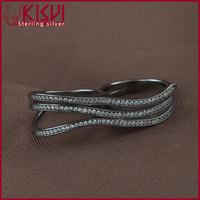 fashionable jewelry non-allergenic jewelry new design finger ring pearl engagewoment rings
