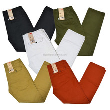 2015 hot sale chino casual pants for men,latest style various color mens leisure pants/ trousers