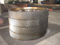 forged large gear