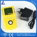portátil micro clips de sulfuro de hidrógeno h2s detector de gas individual
