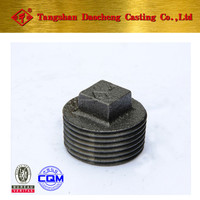 290 Plug Black Malleable Iron Pipe Fittings from Hebei, Tangshan