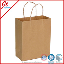 Sourcing Twisted Handle Qualified Brown Kraft Paper Bags