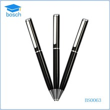 Custom logo printing school supply ersonalized metal ink pens