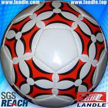 Leather Sewn stuffed pvc football ball