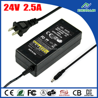 AC/DC adapter 24V 2.5A delta electronics inc AC adapter