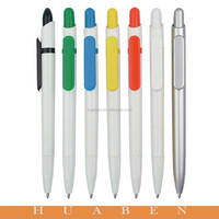 Imprinted promotional plastic ball pen ,gift pen