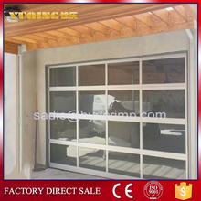 YQGD0014 Aluminum Frame Glass Door, traditional garage doors