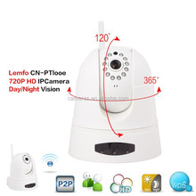 2015 New Product Cloud Storage Alarm Notification Full HD Night Vision Wide Angle Pan & Tilt 1080P 5 Megapixel IP Camera