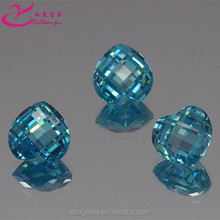 New product heart checkerboard gems for fashion jewelry