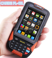 CARIBE PL-40L AF201 inch dual core android rugged barcode scanner,android rfid reader phone