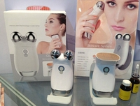 New Home Use Portable Face Clean Lift Skin Rejuvenation RF Microcurrent Facial Contouring Machine