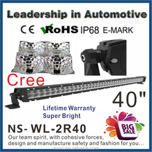 wholesale!!!40 inch 240w cree off road led lightbar,led driving light,waterproof,for 4x4 car accessory,SUV,ATV,4WD,truck,UTV