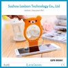 New design foldable mobile cell phone MP3 charge wall holder mobile phone wall holder