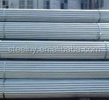 green house galvanize pipe china supplier/round hollow steel pipe/large galvanized steel pipe