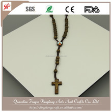 Wooden Bead Rosary, Rosary Necklace,Rose Scent Rosary Chain