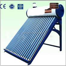 Thermosyphon Vacuum Tube Solar Water Heater with Copper Coil