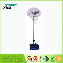 Wholesale good price best quality height adjustable and movable 5' portable outdoor kid's basketball stands