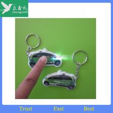 promotional small keyring light,mini keychain light,led uv light