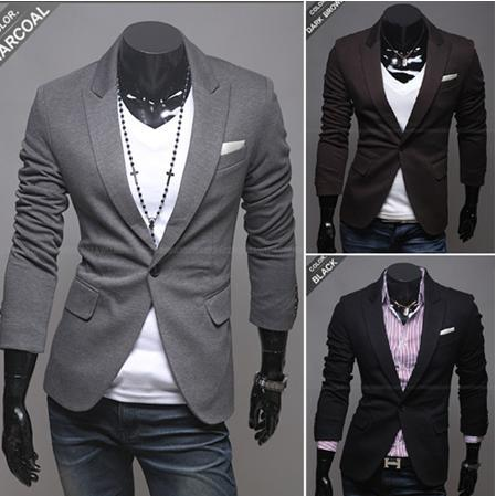 2017 Wholesale New Style Inforamal Occasion Suit Coat For Men