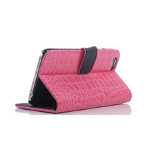 Alligator Leather Skin Case Cover For IPhone6 Stand Mobile Case For Iphone 6 Plus