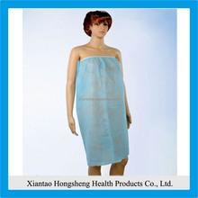 Spa descartável não tecido roupão de banho crianças kimono Robe para Spa