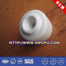 New products customized 7 inch hard white plastic wheel